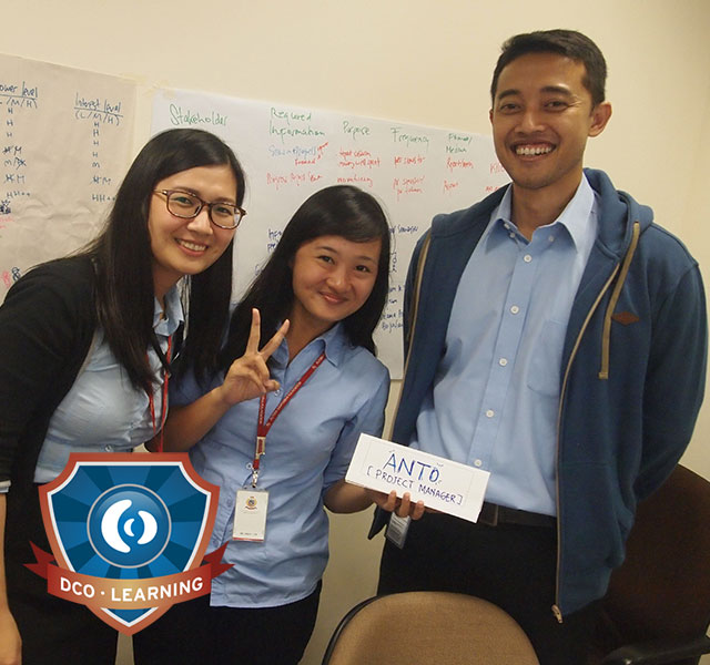 Project Management Training. Jakarta, Indonesia.