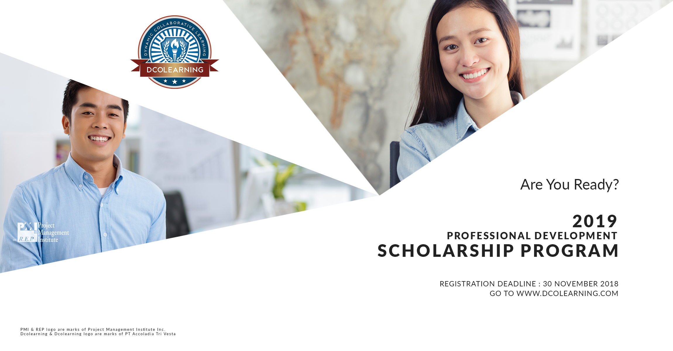 2019 PM PROFESSIONAL DEVELOPMENT SCHOLARSHIP BY DCOLEARNING